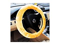 Zone Tech Plush Steering Wheel Cover