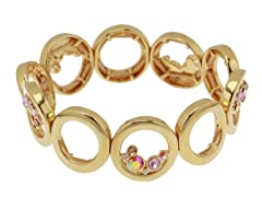Relic RJ1809710 Gold Stretchable Bracelet