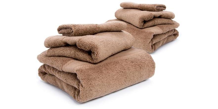 Homesource Microcotton 6 Pc Towel Set