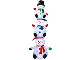 10' Three Stacking Snowman