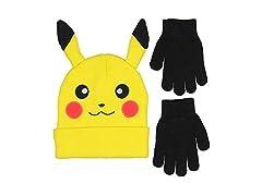 Novelty Pokemon Pikachu Ear Beanie