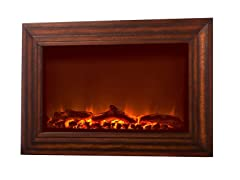 Wood Electric Fireplace