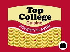 Top College Cuisine LS Tee