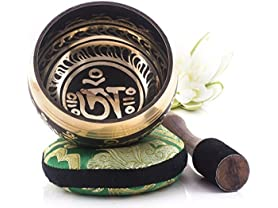 Silent Mind Tibetan Singing Bowl Set- Pick Style