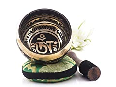 Silent Mind Tibetan Singing Bowl Set-
