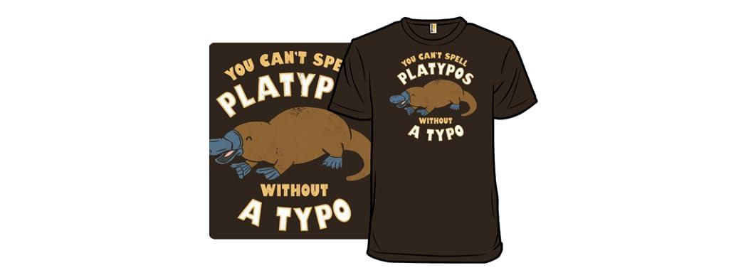 Platypographic
