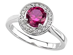 SS Gemstone Fashion Ring