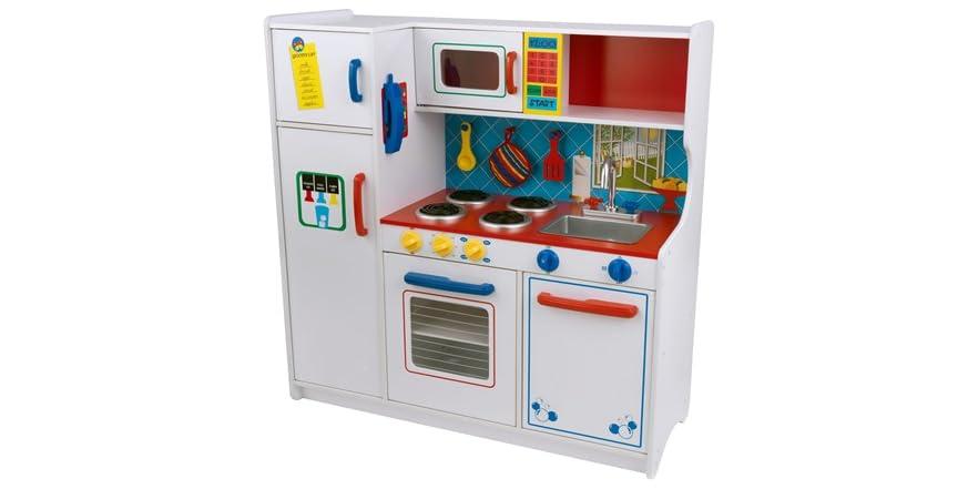 Kidkraft Deluxe Let S Cook Kitchen Kids Amp Toys