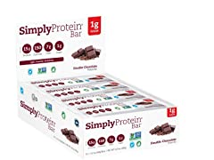 SimplyProtein Bar Double Chocolate, 12pk