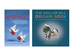 2PK Books: Dollar Bill Origami & Origami