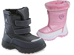 Rugged Bear Kids Snow Boots