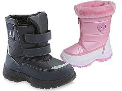 Rugged Bear Kids Snow Boots