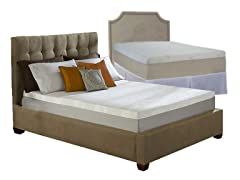 Sleep Comfort Memory Foam Mattress Clearance-Your Choice