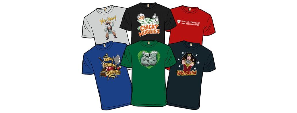 New Shirts for Sale! Yeeee-haaaw!