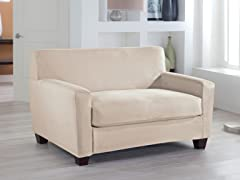 Love Box Stretch Fit Slipcover- Multiple Colors