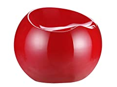 Drop Stool - Red