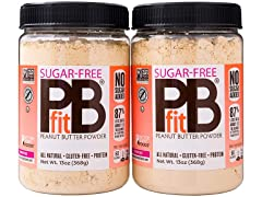 PBfit Peanut Butter Powder, 2 ct