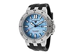 Challenger Watch, Light Blue / Silver