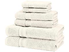 Low Twist Pima Cotton 6-Piece Towel Set