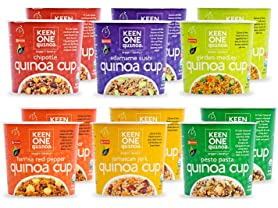 Keen One Quinoa Cup Sampler (12)