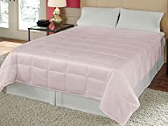 Silk Essence Comforter Light Pink - 2 Sizes