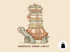 Galapagos Mobile Library Tote