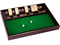 "Shut The Box Game ""12 Numbers"" w/ Dice"