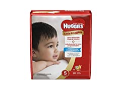 Huggies Little Snugglers Newborn Baby Diapers, 20ct