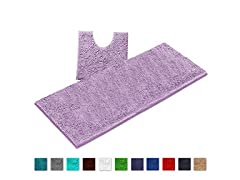 LuxUrux Bathroom Rugs