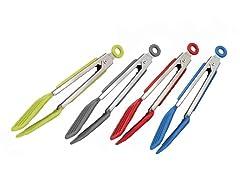 Tovolo Mini Turner Tongs - 4 Colors