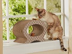 Cool Cat Cardboard Cat Scratcher - Taupe