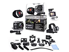 XtremePro 4K Wifi Ultra HD Sport Camera+ Accessories