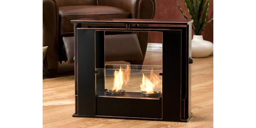 portable indooroutdoor fireplace