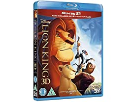 Walt Disney The Lion King Blu-ray 3D