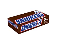 SNICKERS Sharing Size Bars, 24ct