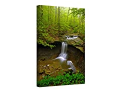 Waterfalls Wrapped Canvas (3 Sizes)