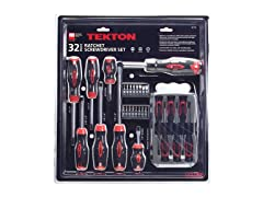 32-pc. Ratchet Screwdriver Set