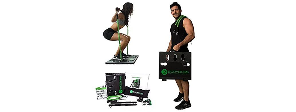 BodyBoss Home Gym 2.0 - Full Portable Gym + Resistance Bands