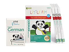 Little Pim German Vol 1- 3 Pack DVD Set and Flashcards