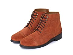 Classic Handcrafted Leather ToeCap Boots (Open Box)