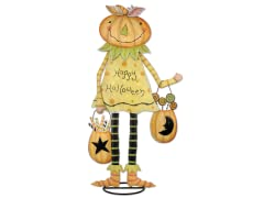 "Sunset Vista Pumpkin Girl 30"" H"