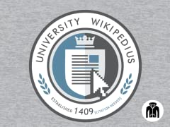 University Wikipedius Zip-Up Hoodie