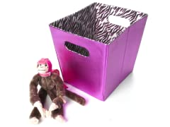 Fuchsia Foldable Storage - Medium