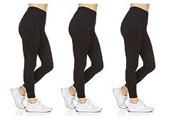 Women's Everyday Super Soft Leggings 3P