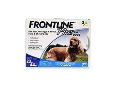 Merial Frontline Plus Flea/Tick Control