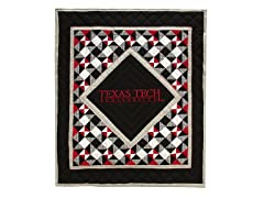 Texas Tech Quilted Throw