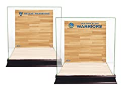 Glass Display Case w/ On-Court Logo