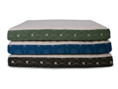 PawMate Faux Sheepskin Printed Ortho Pet Beds - 3 Colors