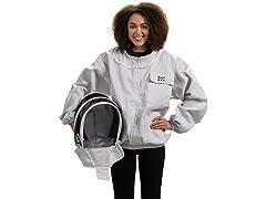 Large Beekeeper Jacket with Fencing Veil