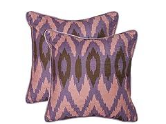 Easton 18x18 Lavender S/2